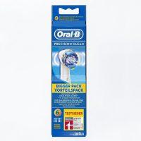 6 oral b precision clean