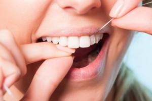 hoe lang tanden flossen