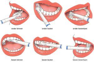 hoe tanden poetsen